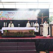Misa Syukur Santo Pelindung SMA Dempo, Santo Albertus de Trapani
