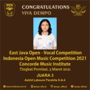 East Java Open – Vocal Competition
